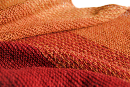 Spice Road :: shawl knitting pattern