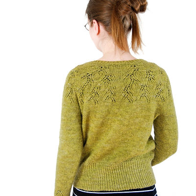 Matcha Latte :: cardigan knitting pattern