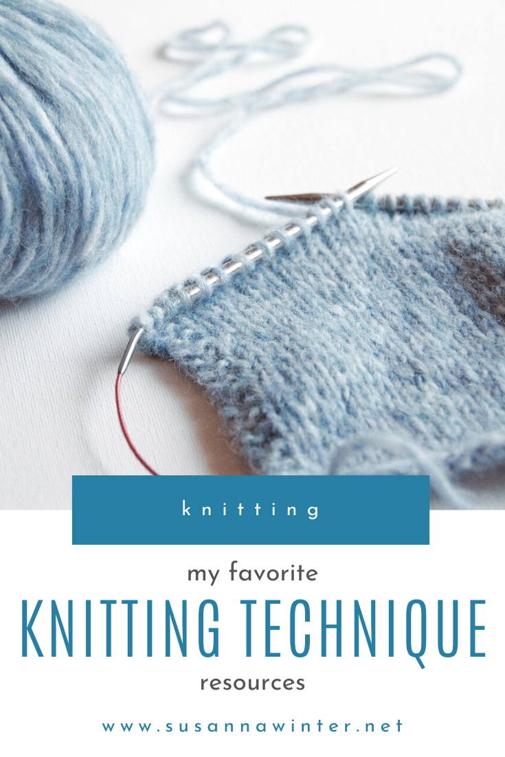 My Favorite Knitting Technique Resources