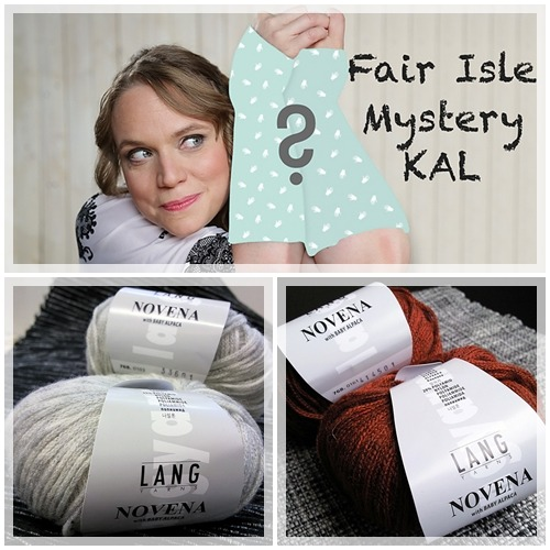 CraSy Fair Isle Mystery KAL