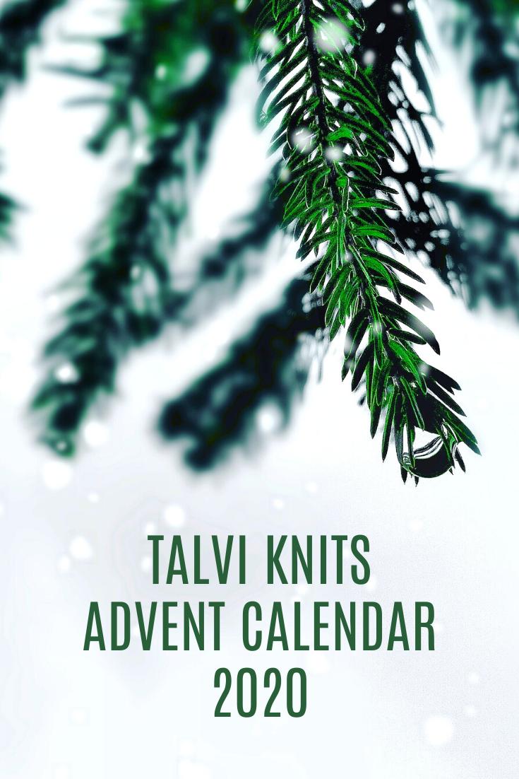 talvi knits Advent Calendar 2020