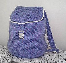 Crocheted Backpack :: free crochet pattern