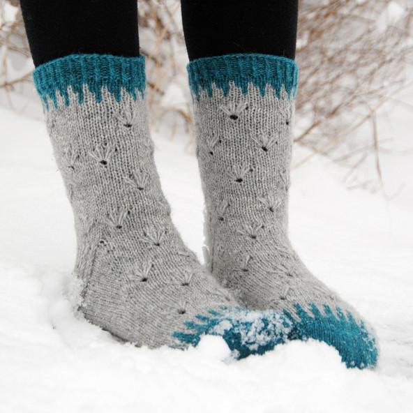 Nuoska :: sock knitting pattern