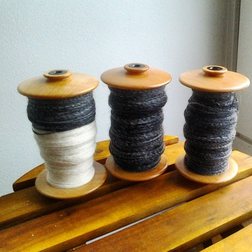 Three Bobbins