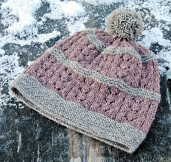 Wild Sage Hat :: hat knitting pattern