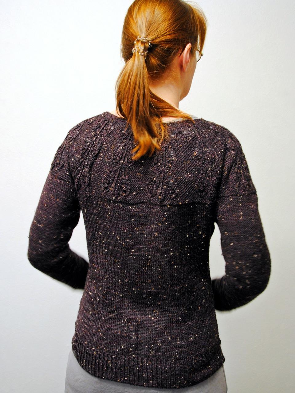 Mirkwood Cardigan - waist shaping and back shaping