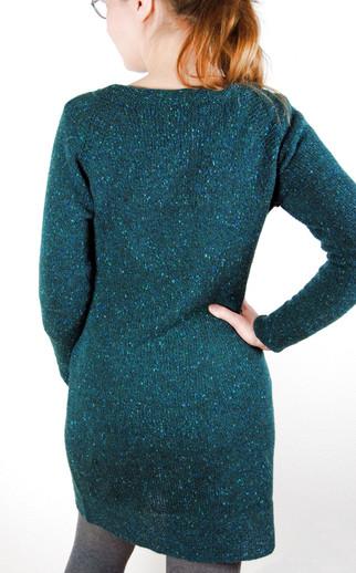 Tweed Is Still the New Black :: tunic knitting pattern