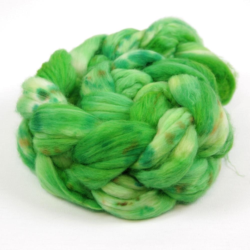 Superwash Merino/Nylon fiber in Tarzan's Underpants