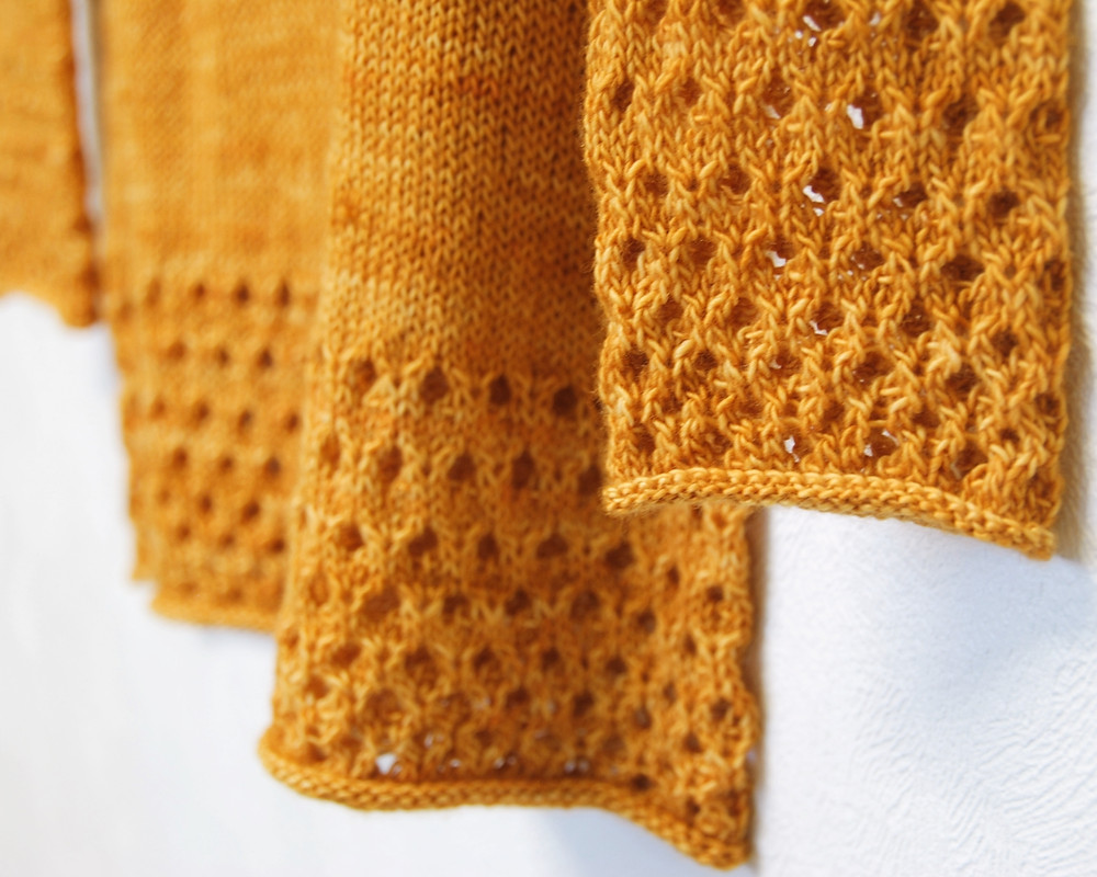 Honeycomb Lace on Honung