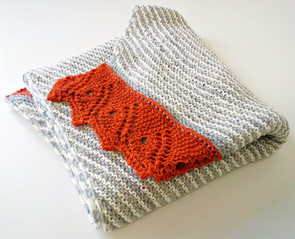 Rustwing :: shawl knitting pattern