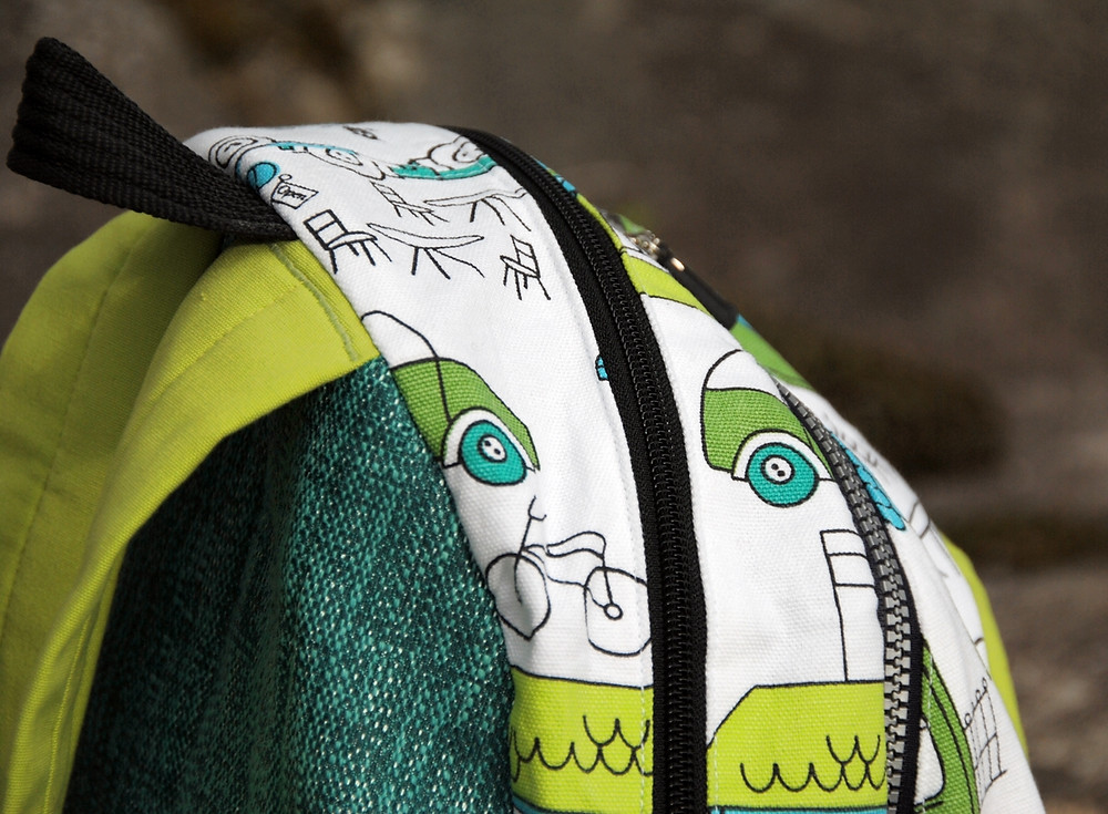 Pattern Matching Oopsie on the Taito Backpack