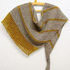 Valo :: shawl knitting patternn