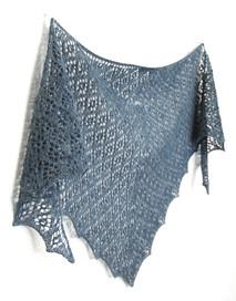 Sirimiri :: shawl knitting pattern