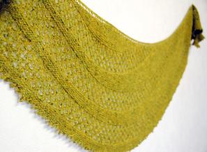 Lime Chamraj :: shawl knitting pattern