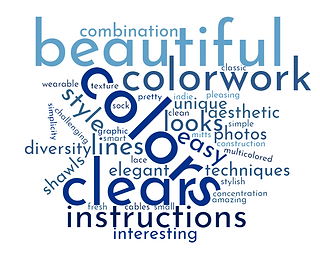 talvi knit designs :: Word Cloud