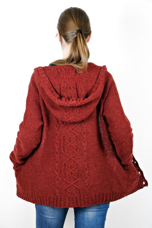 Zingiber :: cardigan knitting pattern