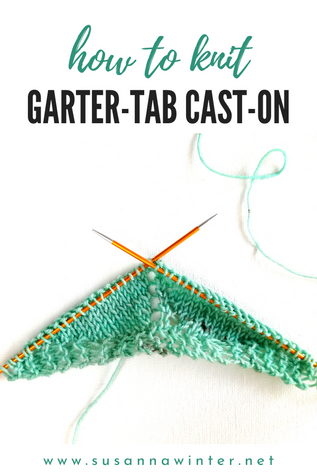 How to Knit Garter-tab Cast-on [Tutorial]