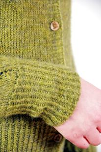 Matcha Latte :: cardigan knitting pattern