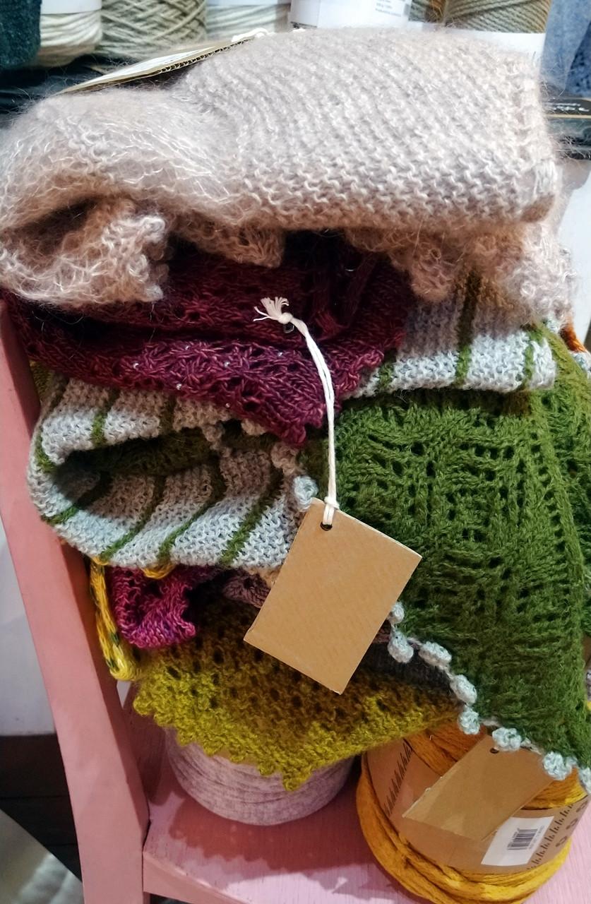 talvi knits. trunk show at Lankakauppa TitiTyy