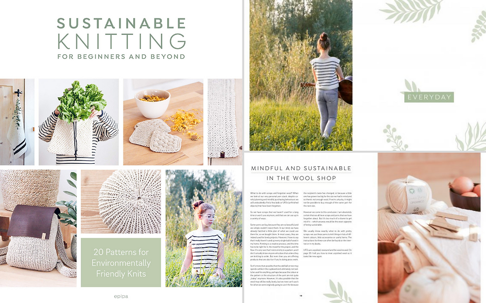 Sustainable Knitting for Beginners and Beyond by Sascia Strohhammer