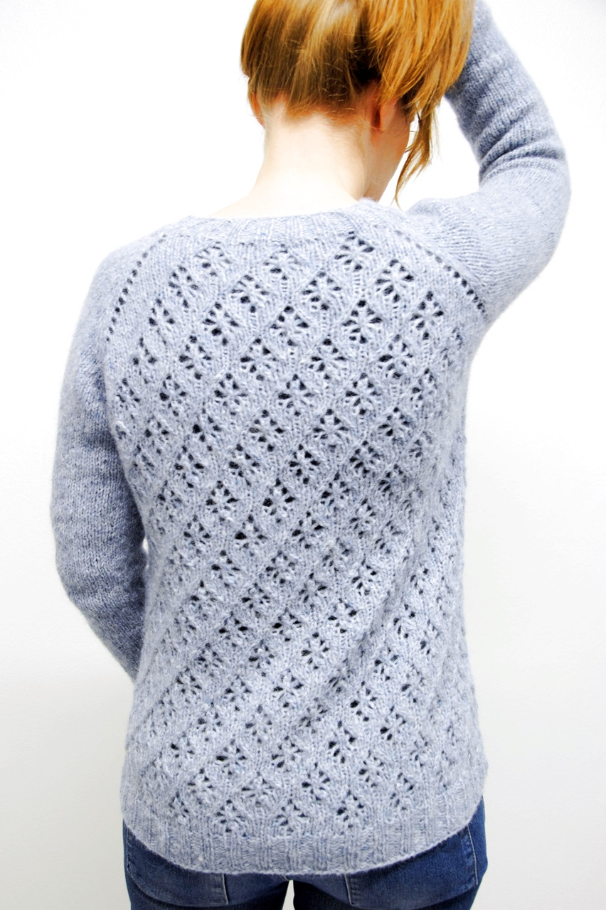 Hygge Days sweater - back view