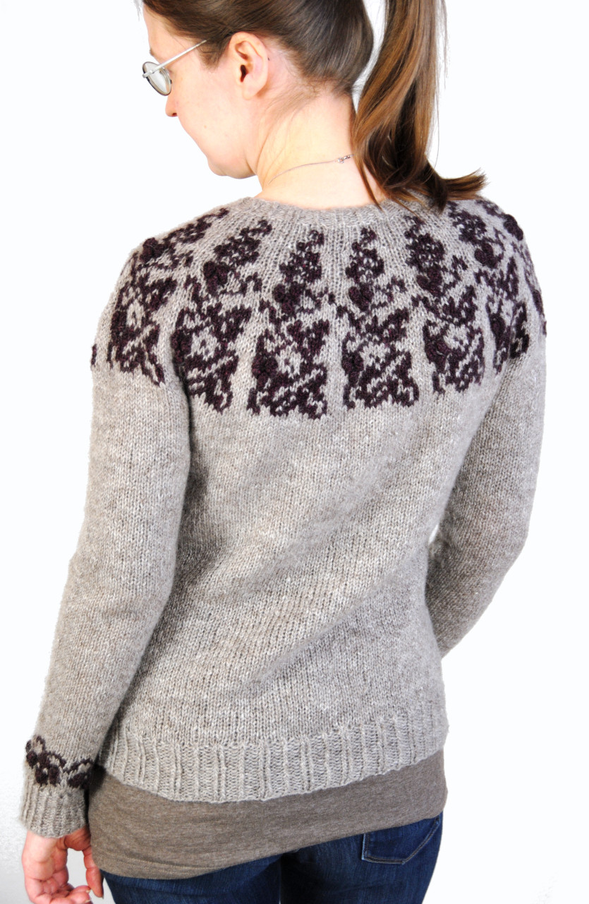 Muscardin :: sweater knitting pattern