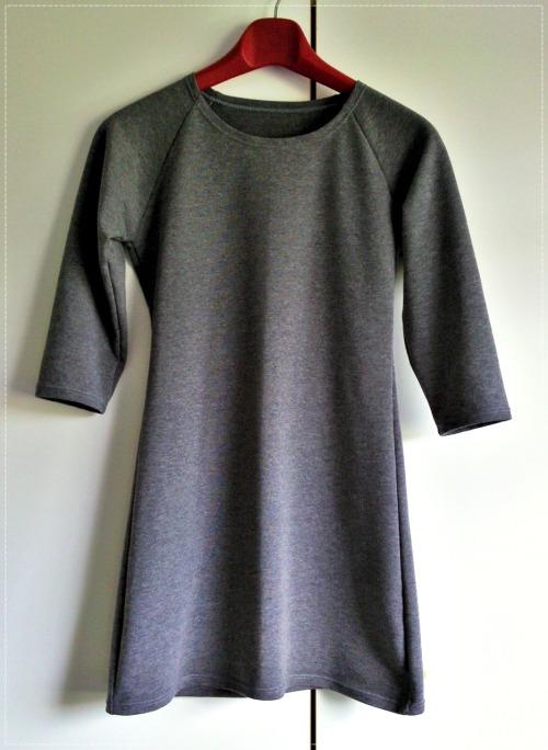 Gray Raglan Tunic