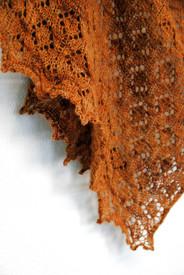 Bronze Age :: shawl knitting pattern
