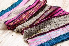 Free Falling :: cowl knitting pattern