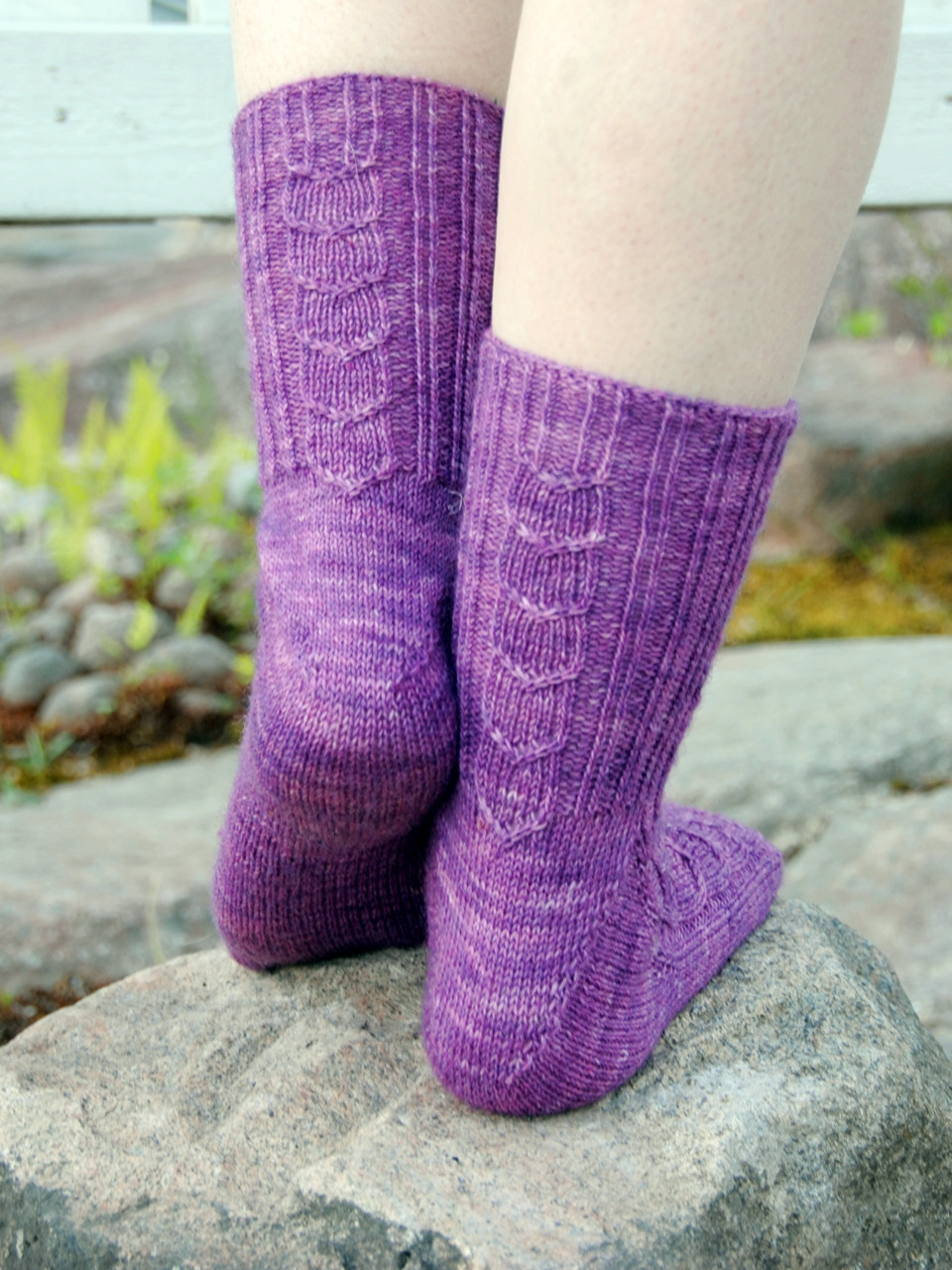Back view of Umpu socks