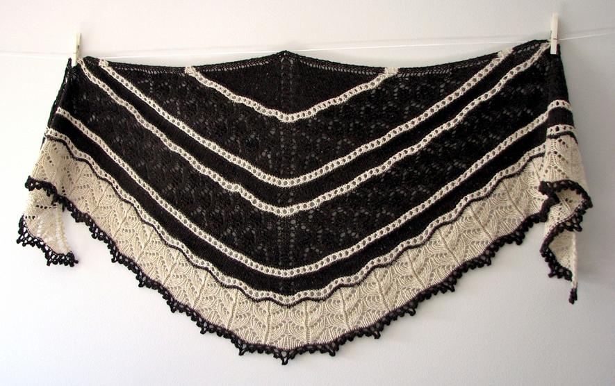 Shawlands :: shawl knitting pattern