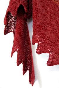 Spice Road :: shawl knitting pattern