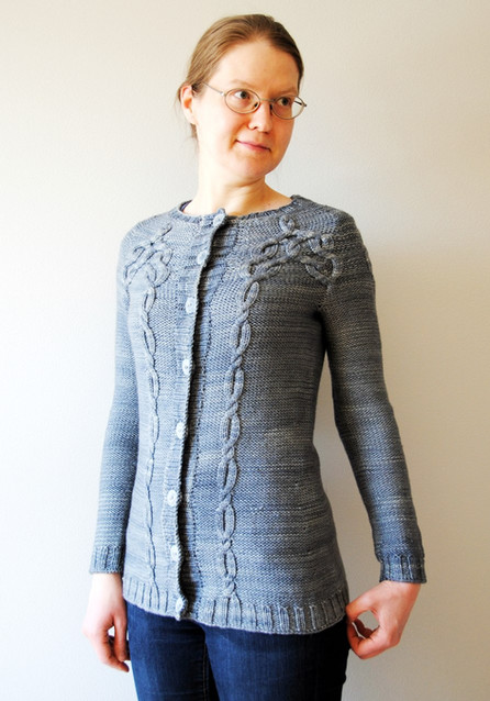 Brontide :: cardigan knitting pattern