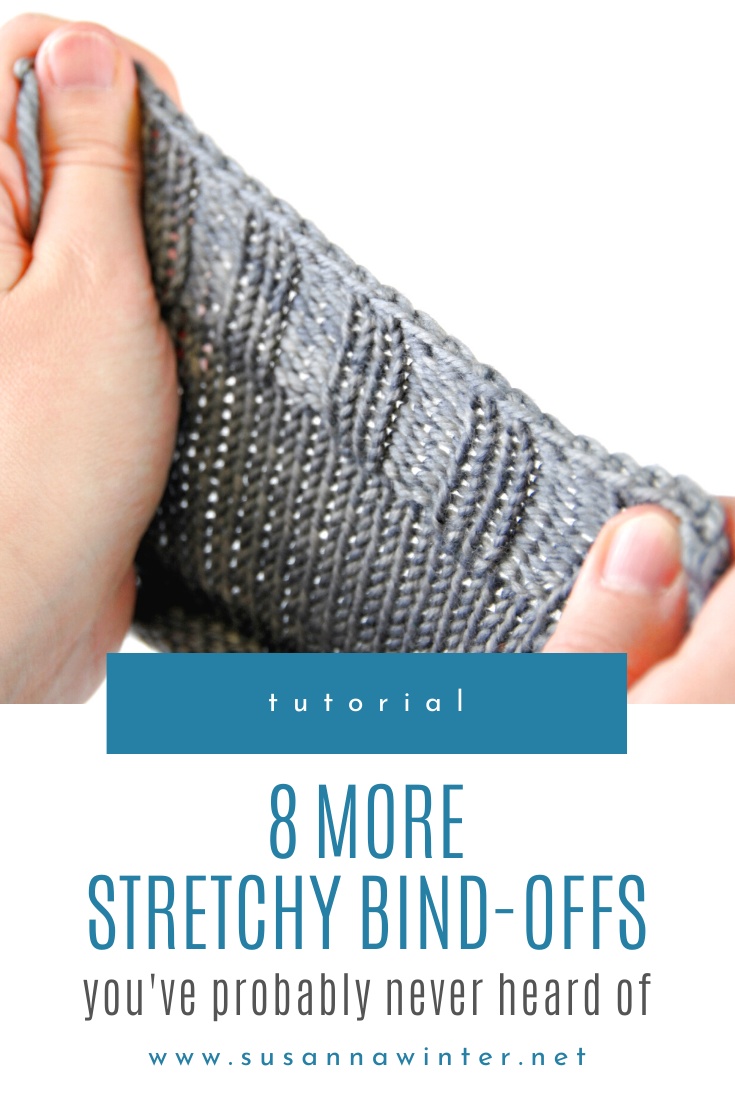 8 More Stretchy Bind-offs You've Probably Never Heard of