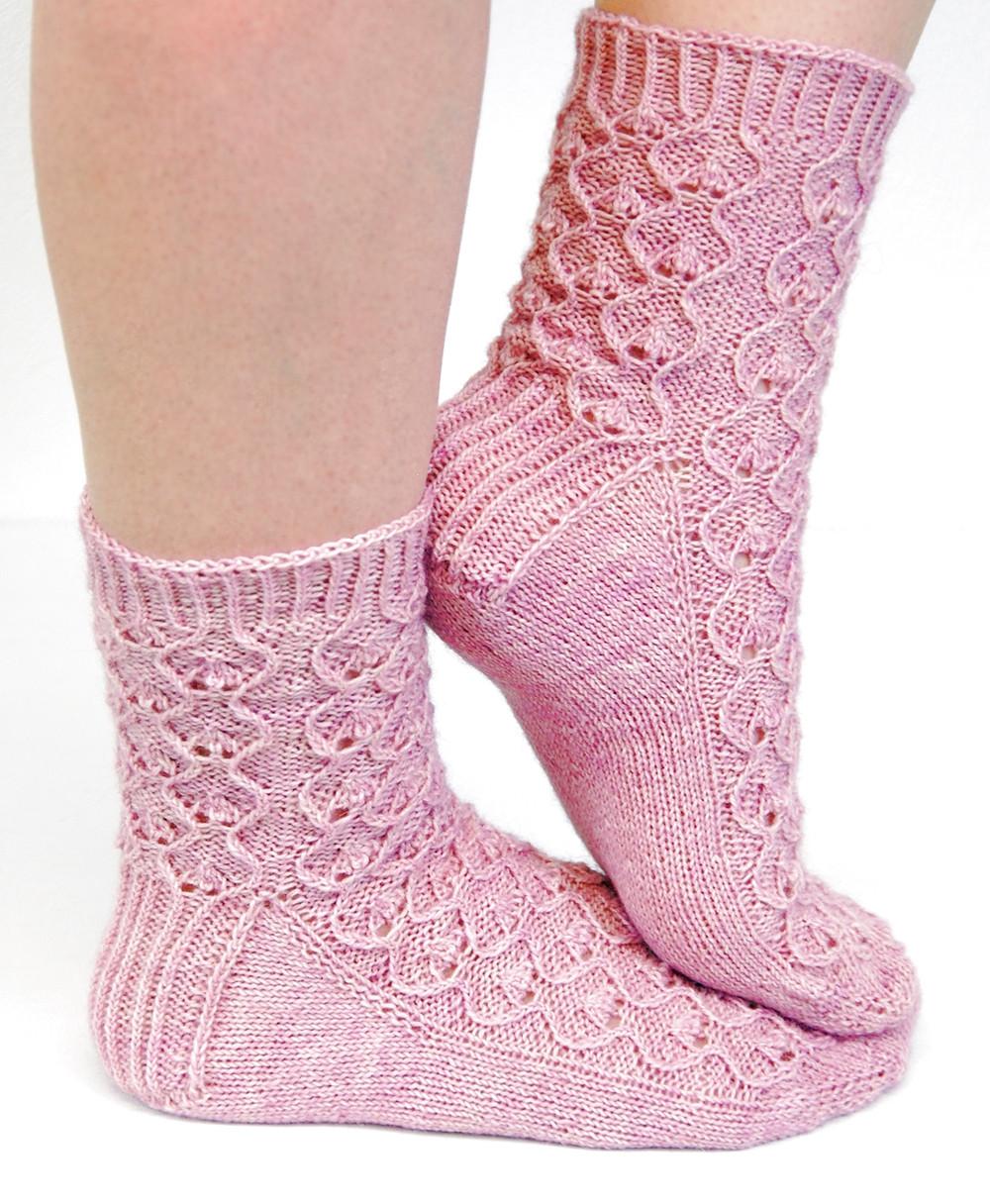 Evighet :: sock knitting pattern from talvi knits.