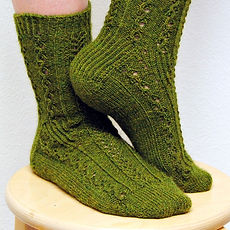 In the Weeds :: sock knitting pattern