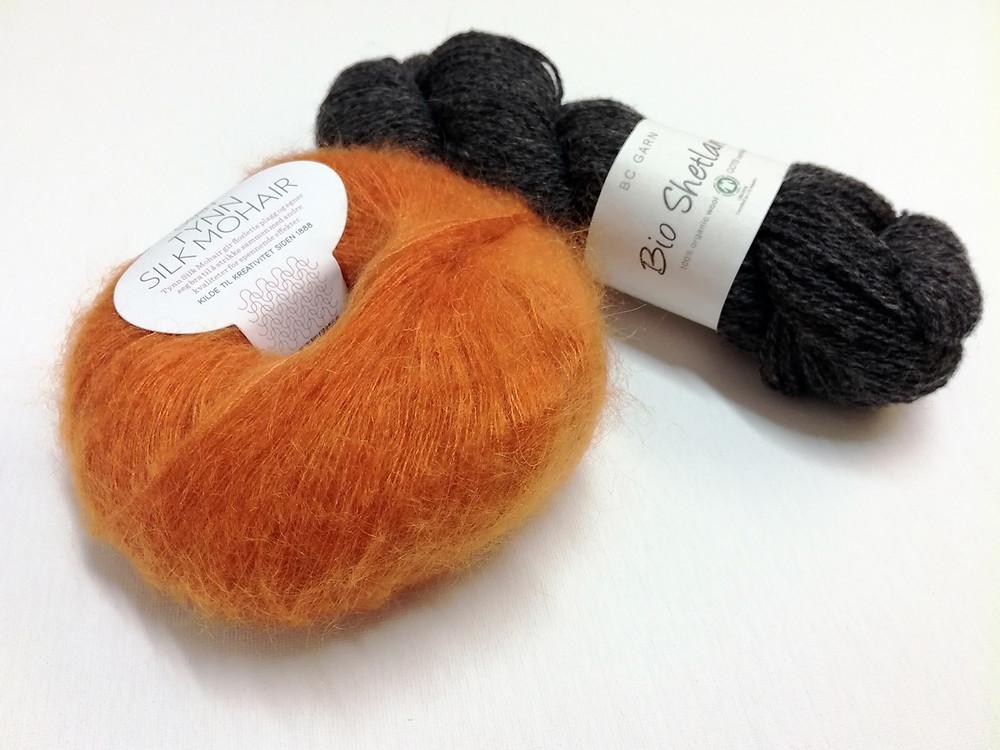 Sandnes Garn Tynn Silk Mohair & BC Garn Bio Shetland