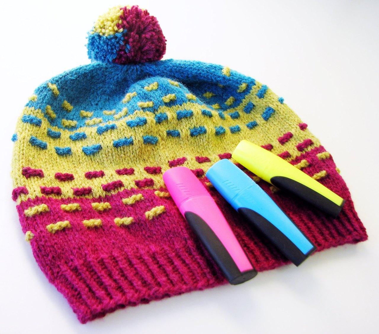 Highlighter Hat