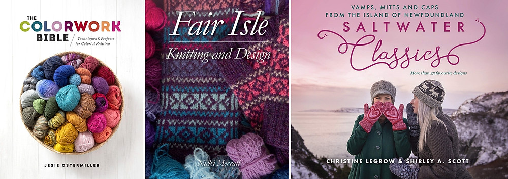 The colorwork craze continues this fall with a slew of new books.