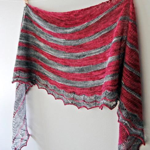 Swing Revival :: shawl knitting pattern