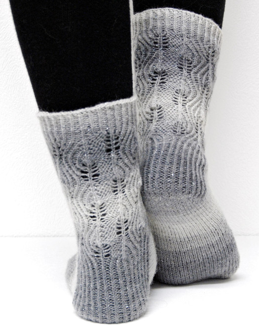Stamets :: sock knitting pattern