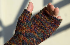 My So Called Mitts :: fingerless mitts knitting pattern