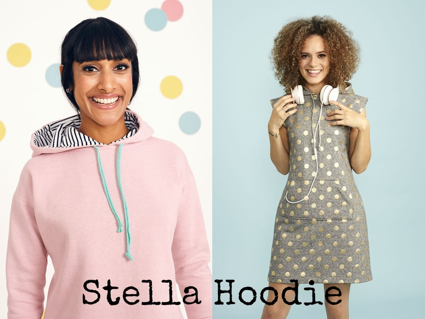 Stella Hoodie from Stretch