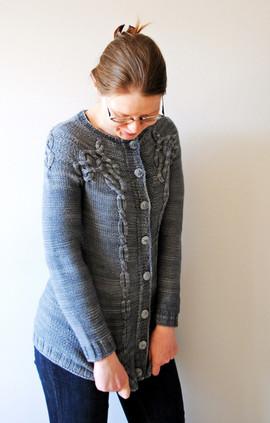 Brontide :: cardigan knitting pattern