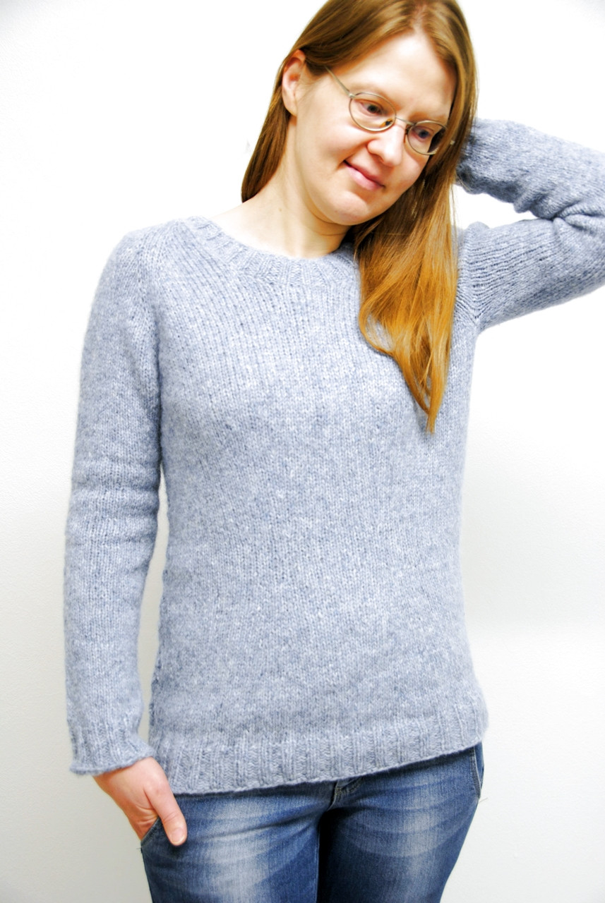 Hygge Days sweater - front view
