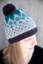 Frysa Beanie :: hat knitting pattern