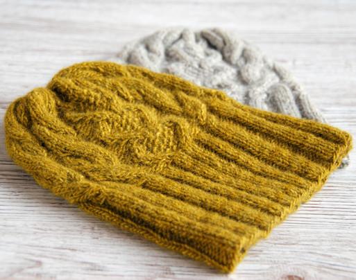 Hibernia Beanie :: hat knitting pattern