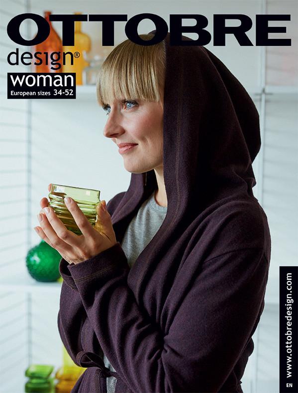 Ottobre Design 5/2018 cover & Autumn Warmer hoodie