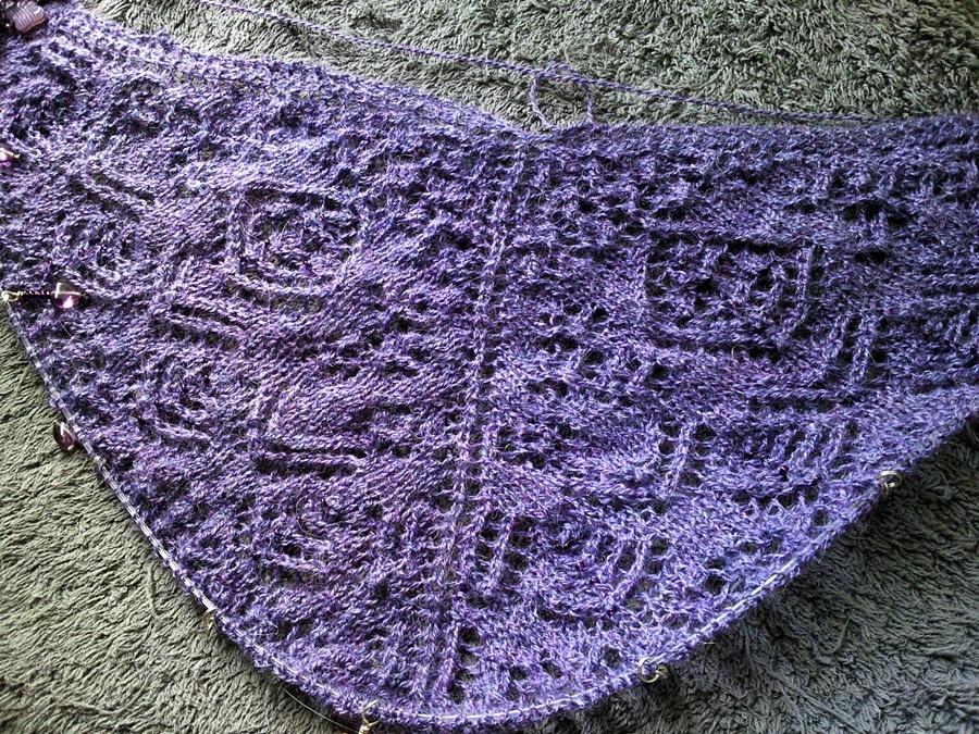 summer mystery shawl 2012