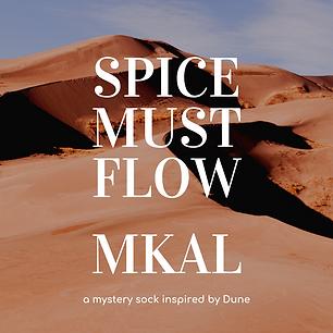 Spice Must Flow :: mystery sock knitting pattern